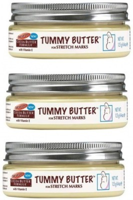 Palmer's Cocoa Tummy butter For Stretch Marks With Vitamin E Formula ( Pack of 3 )(125 g) at flipkart