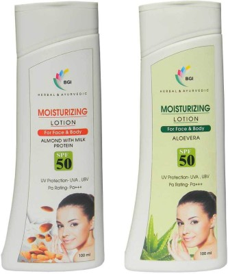 BGI Herbal & Ayurvedic Moisterizer ( Pack Of Two)