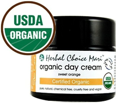 Herbal Choice Mari Organic Day Cream - Sweet Orange / 1.7 Jar