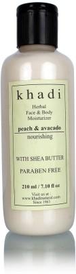 khadi Natural Peach and Avocado Moisturizer (Paraben Free)