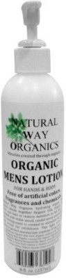 Kodiake natural way organics organic mens lotion for hands