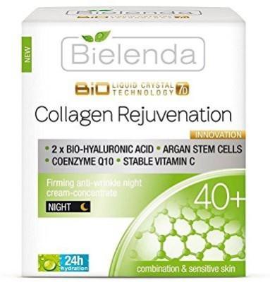Bielenda Collagen Rejuvenation Firming Anti-Wrinkle Night Cream-Concentrate 40+ (50 ml)