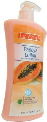 La Fresh Papaya Moisturising Body Lotion With Papaya