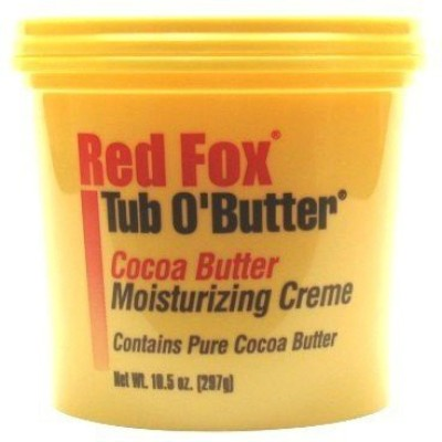 Red Fox tub o,butter cocoa butter 10.5 oz. (3-pack) with free nail file
