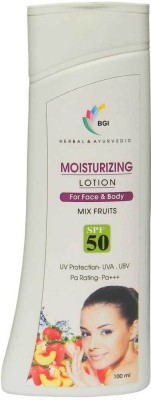 BGI Herbal & Ayurvedic Moisterizer Lotion Mix Fruit