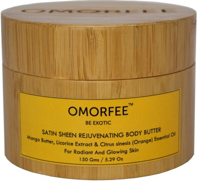 OMORFEE Satin Sheen Rejuvenating Body Butter