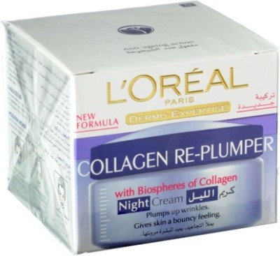 L,Oreal Paris Dermo Expertise Wrinkle De-Crease Night Cream