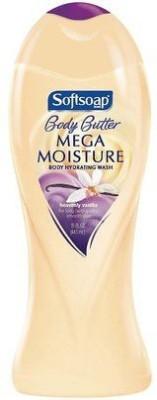 Softsoap Body Butter, Mega Moisture Body Wash, Heavenly Vanilla 15 ( )