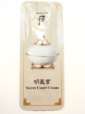 The History of Whoo 30 X Samples Myeong-Ui-Hyang Secret Court Cream Super Saver Than Normal
