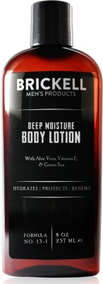 Brickell Mens Deep Moisture Body Lotion