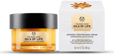 Thje Body shop OILS OF LIFE INTENSELY REVITALIZING CREAM