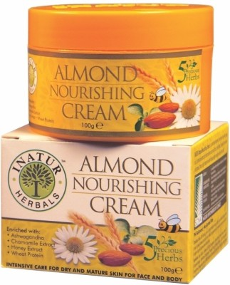 Inatur Herbals Almond Nourishing Cream