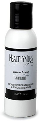 Healthy Vibes Vibrant Bright All Natural Intimate Skin Lightening Cream 2 Oz - Hydroquinone Free