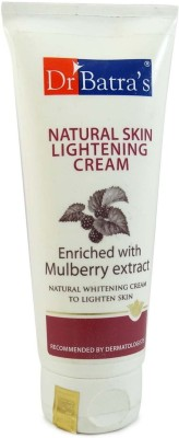 Dr Batra,S Natural Skin Lightening Cream Enriched With Mulberry Extract