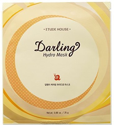 Etude House Darling Snail Caring Skin Care (Darling Snail Caring Hydro Mask 5 Sheets)