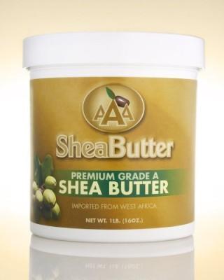 AAA Shea Butter Company AAA Shea Butter Premium Grade A Unrefined Shea Butter, Net WT. 1LB ( )