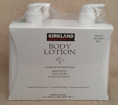 Chom Kirkland Body Lotion, Made with 100% Pure Plant Extracts, , 2pk