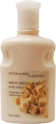 Bath & Body Works Pleasures Collection Warm Vanilla Sugar Body Lotion