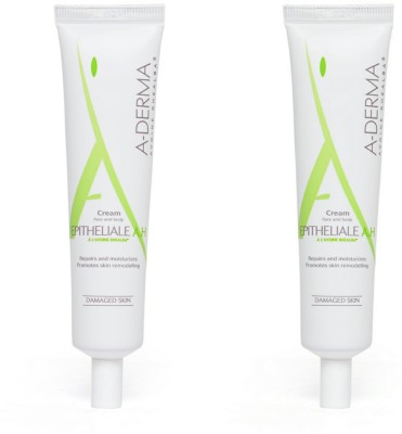A-Derma Epitheliale A.H Cream for face and body - Pack of 2 Moisturizer(35 ml)