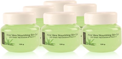 Aloe Veda Nourishing aloe vera Skin Gel - Combo pack of 4 units