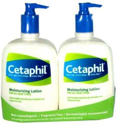 Cetaphil Moisturizing Lotion For All Skin Types (Pack of 2)