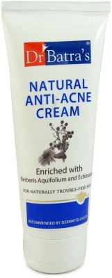 Dr Batra,S Natural Anti-Acne Cream Enriched With Berberis Aquifolium And Echinacea