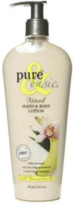 Pure & Basic Natural Bath and Body Lotion Wild Banana Vanilla -