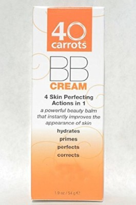 40 Carrots Skin Perfecting Bb Cream Tinted Moisturizer Medium Deep(54 g)