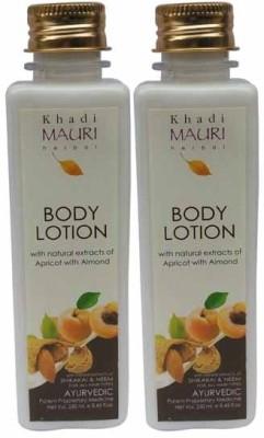 Khadimauri Herbal Body Lotion - Pack of 2 - Premium Natural