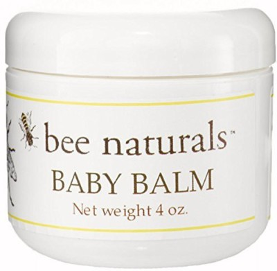 Bee Naturals Baby Balm - Soothe Diaper Rash and Heal Baby's Tender Skin - Perfect for Chapped Skin & Minor Skin Irritations
