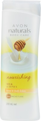 Avon Naturals Milk & Honey Body Lotion
