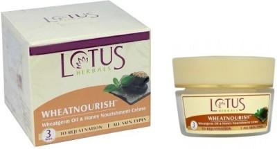 Lotus Wheatnourish Wheatgerm Oil and Honey Nourishment Massage Cream