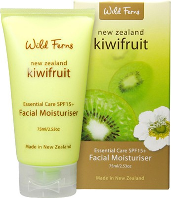 Wild Ferns Exotic Kiwifruit Essential Care SPF 15+ Facial Moisturiser