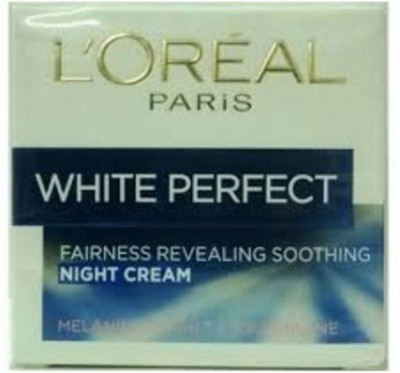 L ,Oreal Paris White Perfect Fairness Revealing Soothing Night Cream