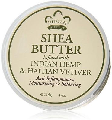 Nubian Heritage Shea Butter Lotion, Indian Hemp