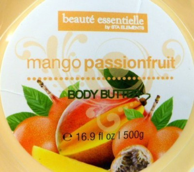Beaute Essentielle BODY BUTTER, MANGO PASSIONFRUIT