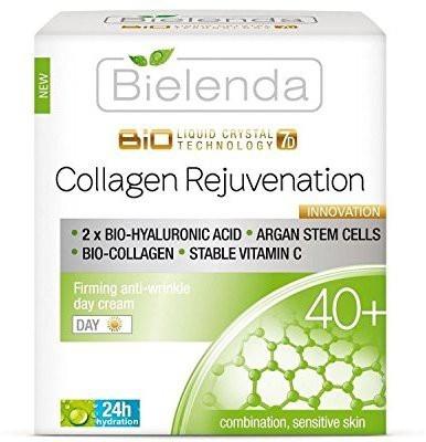Bielenda Collagen Rejuvenation Firming Anti-Wrinkle Day Cream 40+ (50 ml)