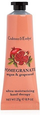 Crabtree & Evelyn Ultra-Moisturising Hand Therapy, Pomegranate, Argan and Grapeseed(25 g)