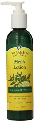 Organix men's lotion south 8 oz lotion
