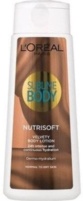 L,Oreal Paris Sublime Body NutriSoft Velvety Lotion