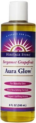 Heritage Store Bergamot Grapefruit Aura Glow, - (Pack of 2)