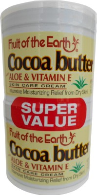 Fruit of the Earth Cocoa Butter With Aloe & Vitamin E Moisturizing Cream