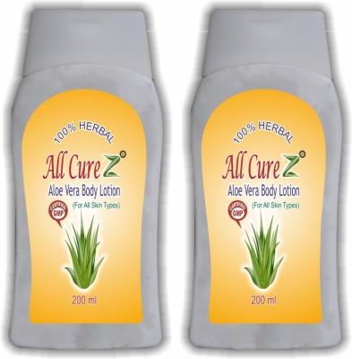 All Curez Aloe Vera Body Lotion (Set of 2)