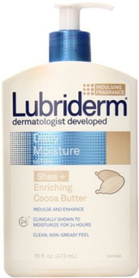 Lubriderm Daily Moisture Lotion Shea and Enriching Cocoa Butter