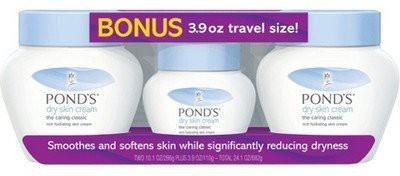 Salamander99 Ponds Dry Skin Cream, , 2 pk., with Bonus 3.9 Travel Size