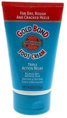 Gold Bond Foot Cream, Triple Action Relief, - Tubes (Pack of 3)