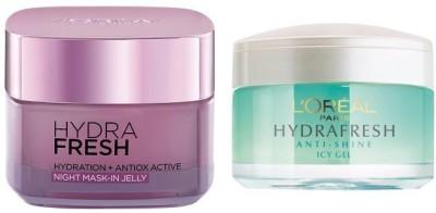 L,Oreal Paris Hydrafresh Anti-Shine & Antiox Active Night Mask