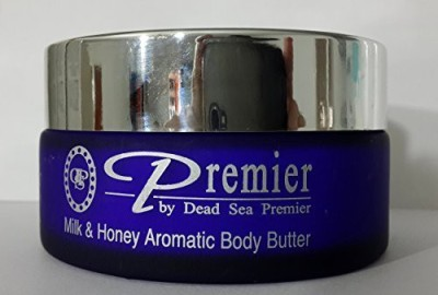 Dead Sea Premier Premier Dead Sea Aromatic Body Butter- Milk and Honey