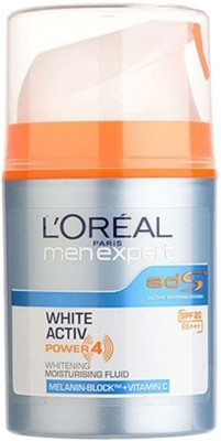 L ,Oreal Paris Men Expert White Activ Moisturising Fluid