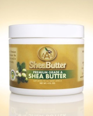 AAA Shea Butter Company 100% unrefined certified grade a shea butter 4 oz.(120 ml)